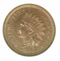 Proof Indian Cents: , 1864 1C BRONZE, RD
