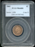 Proof Indian Cents: , 1865 1C, RB