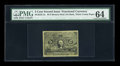 Fractional Currency:Second Issue, 5c Second Issue Experimental Milton 2E5F.3c PMG Choice Uncirculated 64. ...