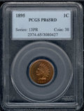 Proof Indian Cents: , 1895 1C, RD