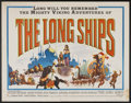 "Movie Posters:Adventure, The Long Ships (Columbia, 1963). Half Sheet (22"" X 28"").Adventure...."