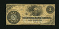 Canadian Currency: , Toronto, ON- Colonial Bank of Canada $1 Apr. 27, 1859 Ch. 130-10-02-02. ...