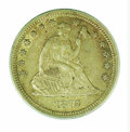 Seated Quarters: , 1872-S 25C