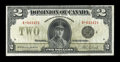 Canadian Currency: , DC-26l $2 $1923.. ...