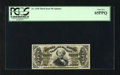 Fractional Currency:Third Issue, Fr. 1330 50¢ Third Issue Spinner PCGS Gem New 65PPQ. Bill purchasedthis note from Tom Denly back in the mid-1990s. This rar...