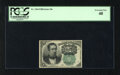Fractional Currency:Fifth Issue, Fr. 1264 10c Fifth Issue PCGS Extremely Fine 40. A wonderfullymargined example of this much scarcer green seal variety that...