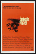 "Movie Posters:Science Fiction, Fantastic Voyage (20th Century Fox, 1966). One Sheet (27"" X 41"").Science Fiction. Starring Stephen Boyd, Raquel Welch, Edmo..."