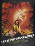 "Movie Posters:Horror, Vampire Circus (20th Century Fox, 1972). French Grande (47"" X 63""). Horror. Starring Adrienne Corri, Thorley Walters, Anthon..."