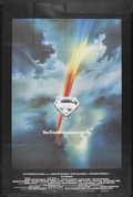"Movie Posters:Action, Superman (Warner Brothers, 1978). British Poster (40"" X 60"").Sci-Fi Adventure. Starring Marlon Brando, Gene Hackman, Christ..."
