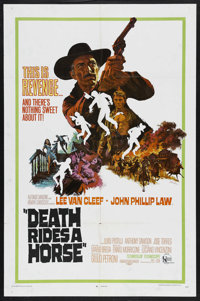 """Death Rides a Horse (United Artists, 1968). One Sheet (27"""" X 41""""). Western. Starring Lee Van Cleef, John Phill..."""