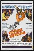 "Movie Posters:Adventure, Five Weeks in a Balloon (20th Century Fox, 1962). One Sheet (27"" X41""). Adventure Comedy. Starring Red Buttons, Fabian, Bar..."