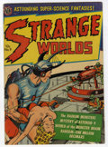 Golden Age (1938-1955):Science Fiction, Strange Worlds #9 (Avon, 1952) Condition: FN+....