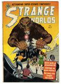 Golden Age (1938-1955):Science Fiction, Strange Worlds #7 (Avon, 1952) Condition: Apparent FN....