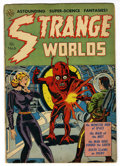 Golden Age (1938-1955):Horror, Strange Worlds #6 (Avon, 1952) Condition: VG+....