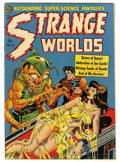 Golden Age (1938-1955):Horror, Strange Worlds #5 (Avon, 1951) Condition: Apparent FN....