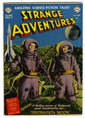 Golden Age (1938-1955):Science Fiction, Strange Adventures #1 (DC, 1950) Condition: Apparent VG/FN....