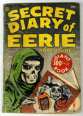 Golden Age (1938-1955):Horror, Secret Diary of Eerie Adventures #nn (Avon, 1953) Condition: FR....