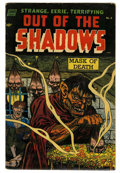 Golden Age (1938-1955):Horror, Out Of The Shadows #8 (Standard, 1953) Condition: VG....