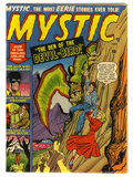 "Golden Age (1938-1955):Horror, Mystic #4 ""D"" copy pedigree (Atlas, 1951) Condition: VF-...."