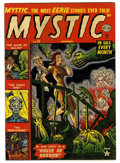 Golden Age (1938-1955):Horror, Mystic #15 (Atlas, 1952) Condition: FN/VF....
