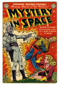 Golden Age (1938-1955):Science Fiction, Mystery in Space #4 (DC, 1951) Condition: FN-....