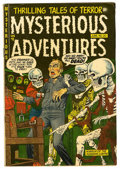 Golden Age (1938-1955):Horror, Mysterious Adventures #20 (Story Comics, 1954) Condition: FN-....