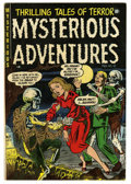 Golden Age (1938-1955):Horror, Mysterious Adventures #18 (Story Comics, 1954) Condition: VG/FN....