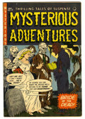 Golden Age (1938-1955):Horror, Mysterious Adventures #17 (Story Comics, 1953) Condition: FN....