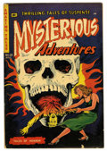 Golden Age (1938-1955):Horror, Mysterious Adventures #13 (Story Comics, 1953) Condition: VG+....