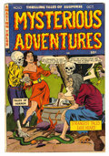 Golden Age (1938-1955):Horror, Mysterious Adventures #10 (Story Comics, 1952) Condition: FN....