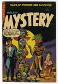 Golden Age (1938-1955):Horror, Mister Mystery #17 (Aragon Magazines, Inc., 1954) Condition: FN....
