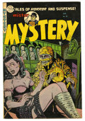 Golden Age (1938-1955):Horror, Mister Mystery #16 (Aragon Magazines, Inc., 1954) Condition:FN+....
