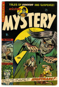 Golden Age (1938-1955):Horror, Mister Mystery #15 (Aragon Magazines, Inc., 1954) Condition:FN+....