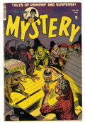 Golden Age (1938-1955):Horror, Mister Mystery #14 (Aragon Magazines, Inc., 1953) Condition: FN....