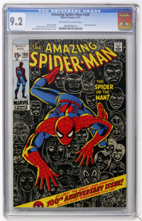 The Amazing Spider-Man #100 (Marvel, 1971) CGC NM- 9.2 Off-white to white pages