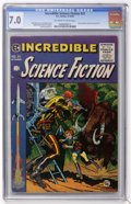 Golden Age (1938-1955):Science Fiction, Incredible Science Fiction #31 (EC, 1955) CGC FN/VF 7.0 Off-whiteto white pages....