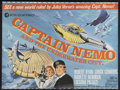 "Movie Posters:Science Fiction, Captain Nemo and the Underwater City (MGM, 1969). British Quad (30"" X 40""). Science Fiction. Starring Robert Ryan, Chuck Con..."