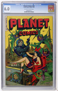 Golden Age (1938-1955):Science Fiction, Planet Comics #69 (Fiction House, 1953) CGC FN 6.0 Off-white towhite pages....