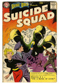 Silver Age (1956-1969):Superhero, The Brave and the Bold #25 Suicide Squad (DC, 1959) Condition: GD+....