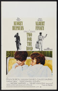 "Movie Posters:Drama, Two for the Road (20th Century Fox, 1967). Window Card (14"" X 22""). Drama. Starring Audrey Hepburn, Albert Finney, William D..."