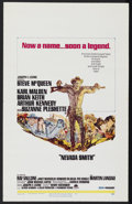 "Nevada Smith (Paramount, 1966). Window Card (14"" X 22""). Western. Starring Steve McQueen, Karl Malden, Brian K..."