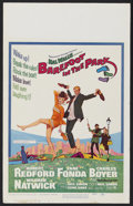 """Movie Posters:Comedy, Barefoot in the Park (Paramount, 1967). Window Card (14"""" X 22"""").Comedy. Starring Robert Redford, Jane Fonda, Charles Boyer ..."""