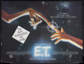 "Movie Posters:Science Fiction, E.T. The Extra-Terrestrial (Universal, 1982). British Quad (30"" X40""). Sci-Fi Adventure. Starring Henry Thomas, Dee Wallace..."