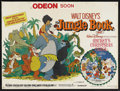 "Movie Posters:Animated, The Jungle Book (Buena Vista, R-1983). British Quad (30"" X 40"").Animated Adventure. Starring the voices of Phil Harris, Seb..."