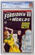 Silver Age (1956-1969):Mystery, Forbidden Worlds #109 Bethlehem pedigree (ACG, 1963) CGC VF+ 8.5Off-white pages....