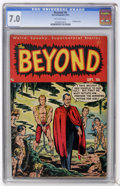 Golden Age (1938-1955):Horror, The Beyond #6 (Ace, 1951) CGC FN/VF 7.0 Off-white pages....