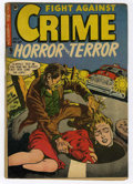 Golden Age (1938-1955):Horror, Fight Against Crime #20 (Story Comics, 1954) Condition: VG....