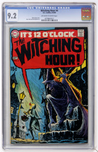 The Witching Hour #4 (DC, 1969) CGC NM- 9.2 Off-white to white pages