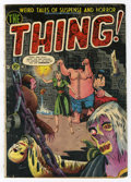 Golden Age (1938-1955):Horror, The Thing! #5 (Charlton, 1952) Condition: GD/VG....