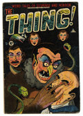 Golden Age (1938-1955):Horror, The Thing! #7 (Charlton, 1953) Condition: GD+....